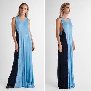 Baja East x Hudson Tie Dye Maxi Dress
